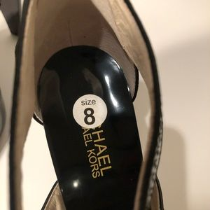 MICHAEL Michael Kors Shoes - MICHAEL Michael Kors Berkley T-Strap heels NWOT